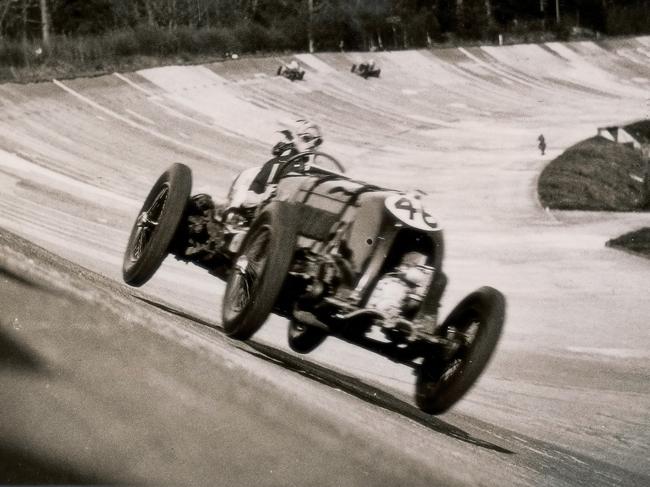 1928년 르망 24시 내구레이스에서 우승한 벤틀리 경주차