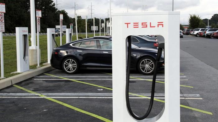 Tesla-Charging-Station