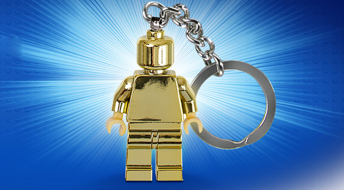 07 lego gold mini figure event