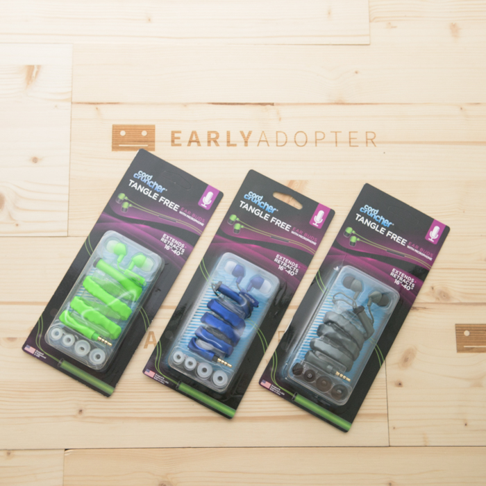 cord cruncher tangle free earbuds earphone review (2)