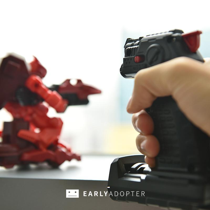 takara tomy battle gunbot robot toy review (10)