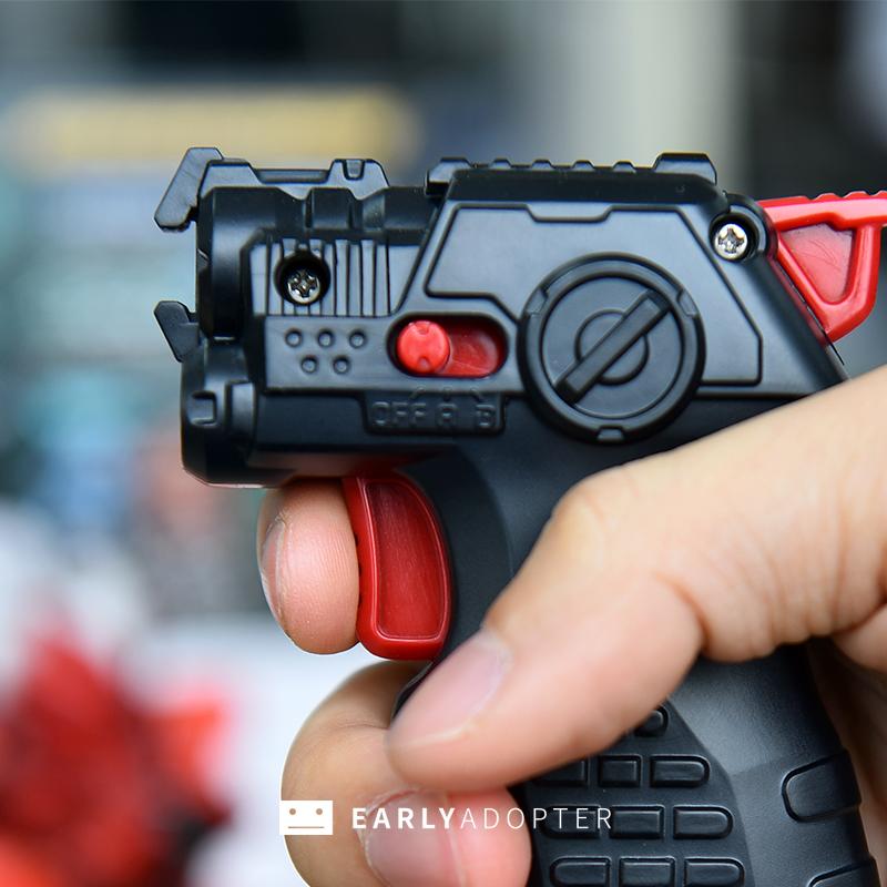 takara tomy battle gunbot robot toy review (12)