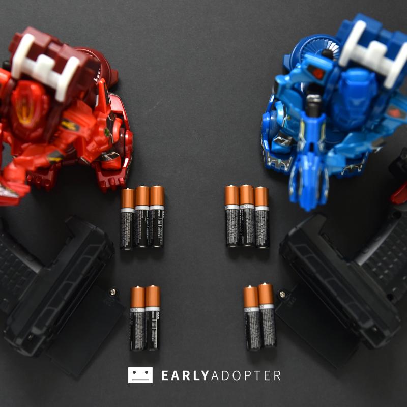 takara tomy battle gunbot robot toy review (13)