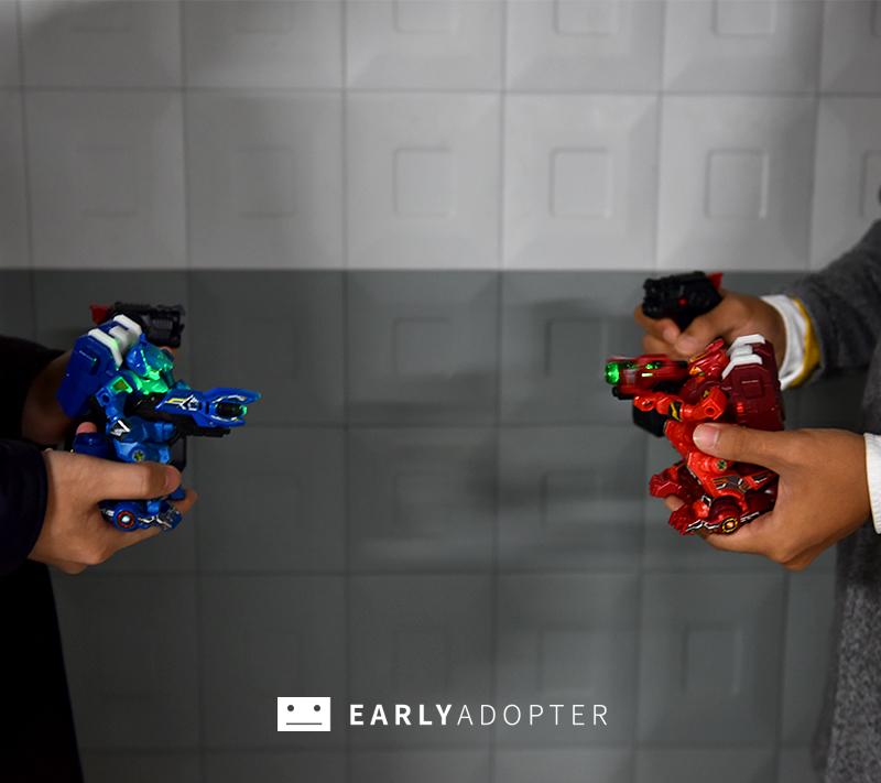 takara tomy battle gunbot robot toy review (14)