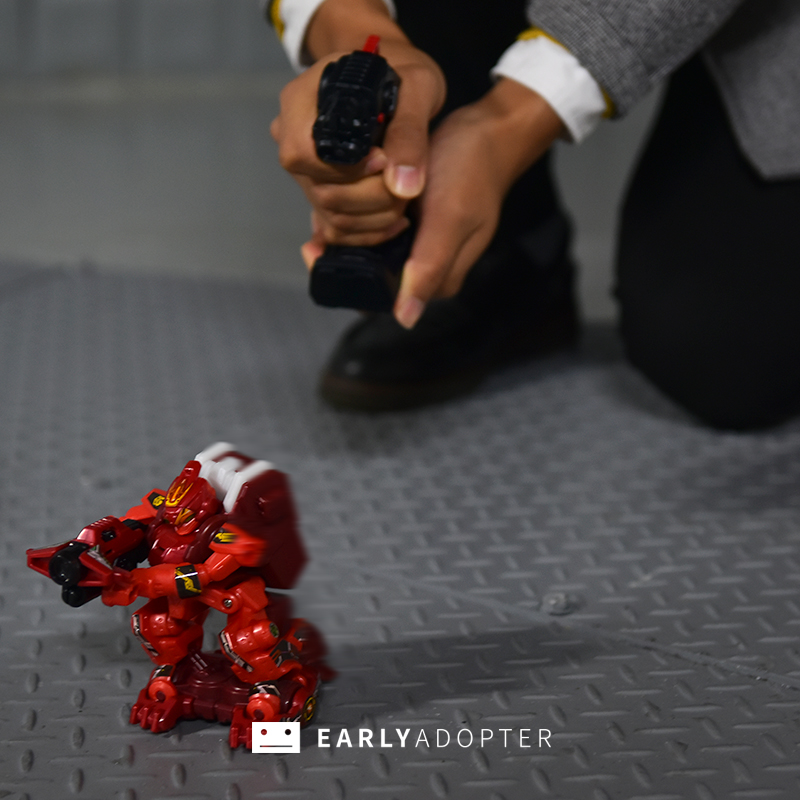 takara tomy battle gunbot robot toy review (16)