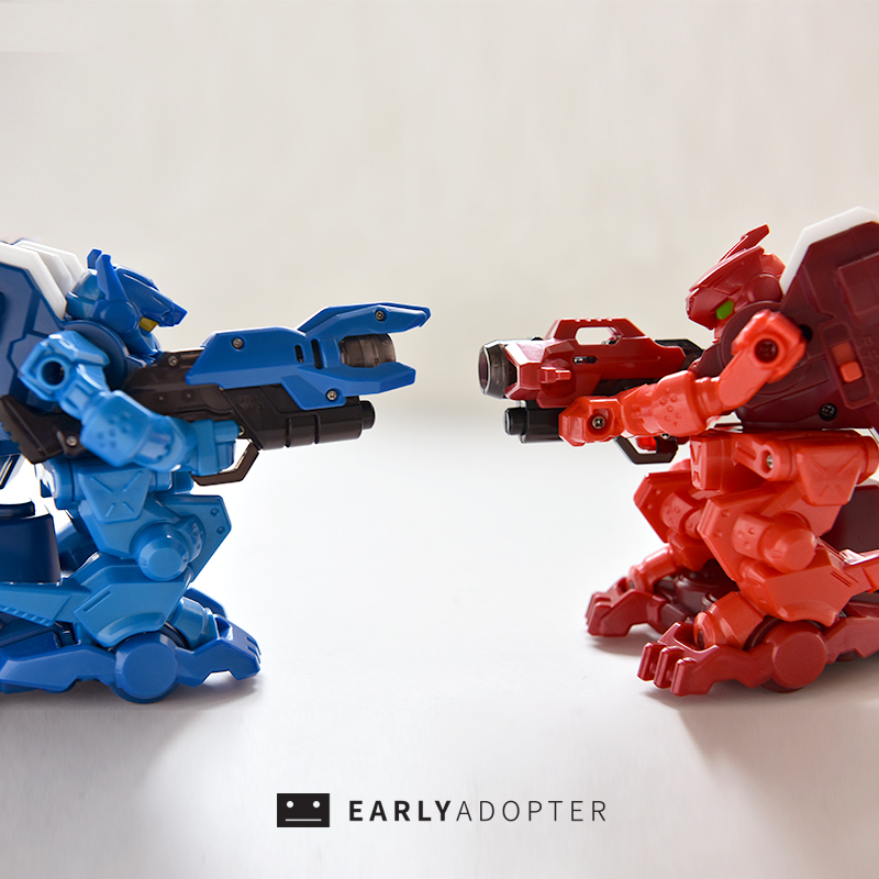 takara tomy battle gunbot robot toy review (2)