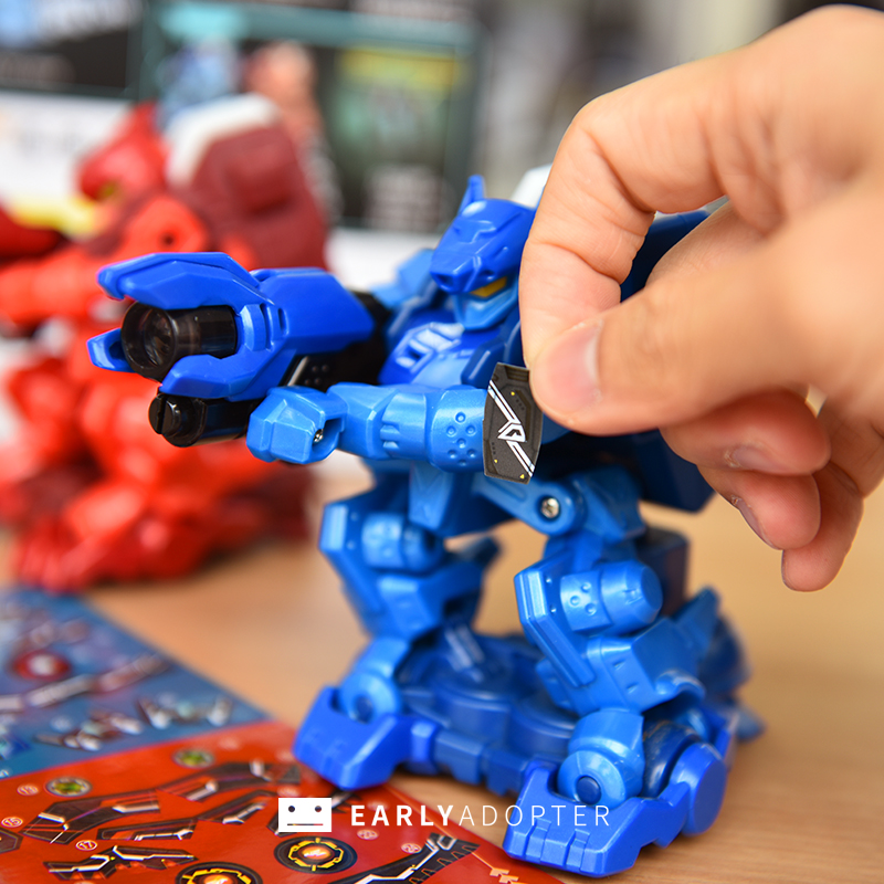 takara tomy battle gunbot robot toy review (7)