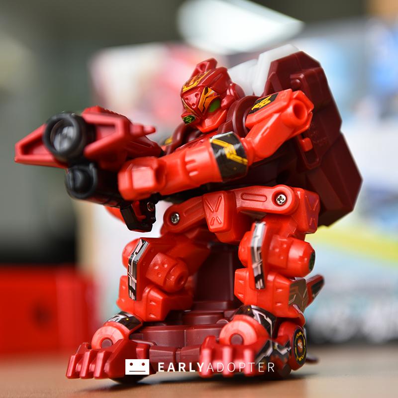 takara tomy battle gunbot robot toy review (8)