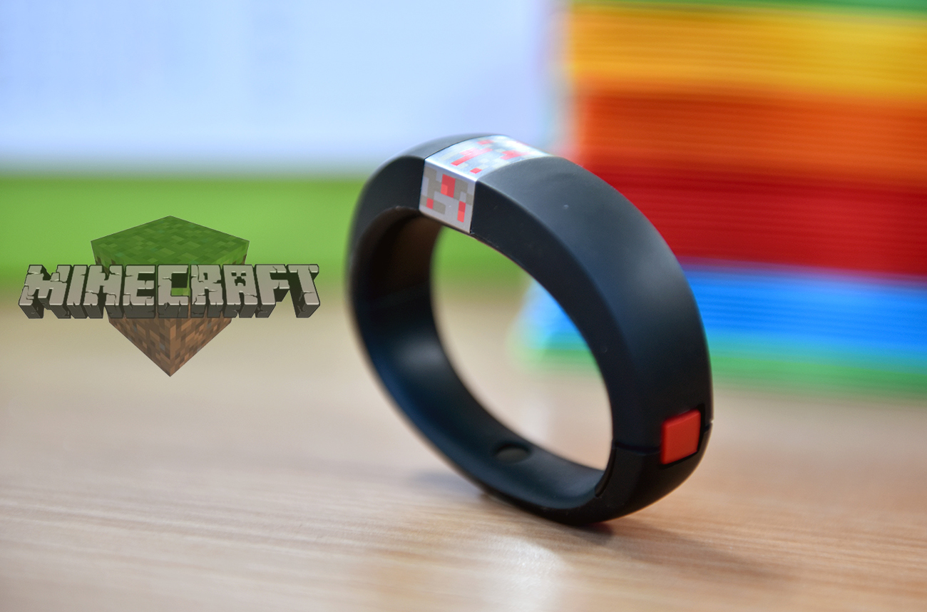 gameband minecraft wearable band review (1)
