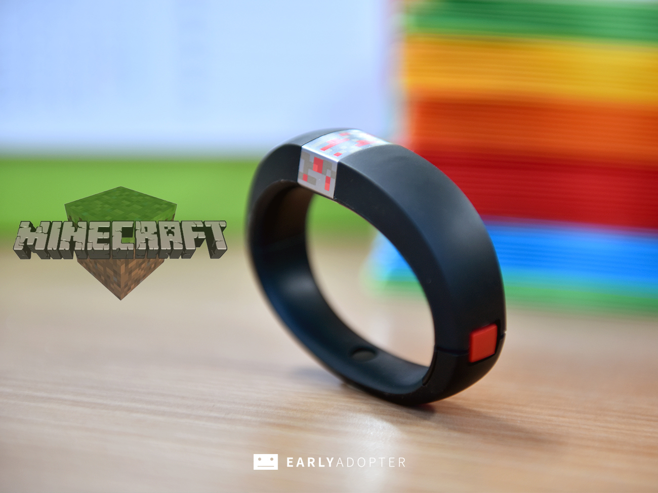 gameband minecraft wearable band review (2)