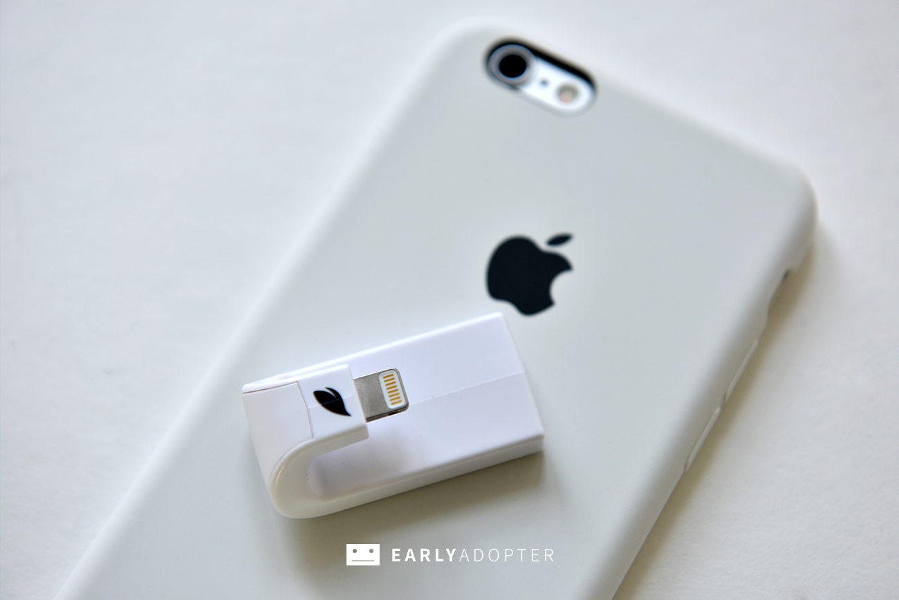 leef iaccess iphone lightning micro sd reader review (1)