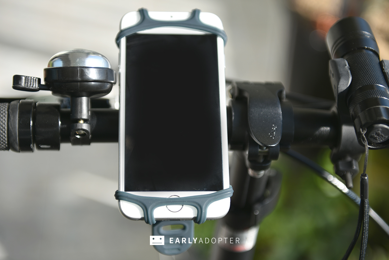 bike tie smartphone mount for bicycle (8)