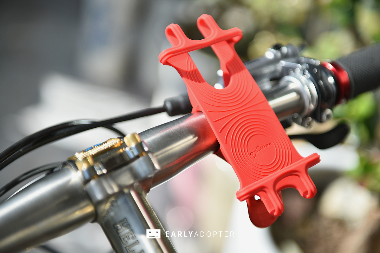 bike tie smartphone mount for bicycle (9)