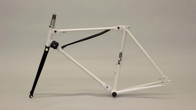 fubi fixie bicycle folding bike (3)