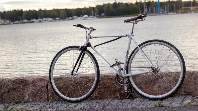 fubi fixie bicycle folding bike (4)