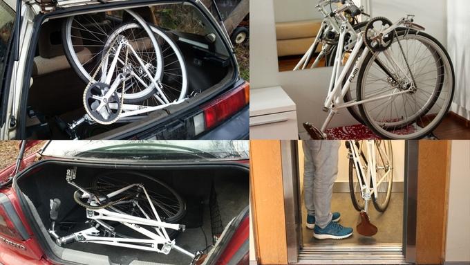 fubi fixie bicycle folding bike (5)