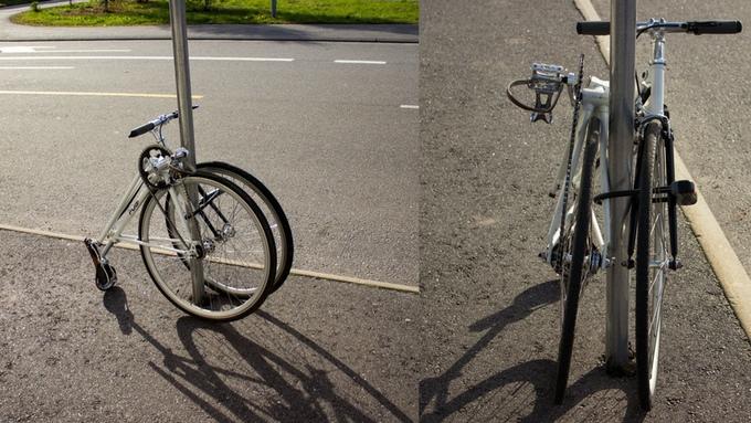 fubi fixie bicycle folding bike (6)