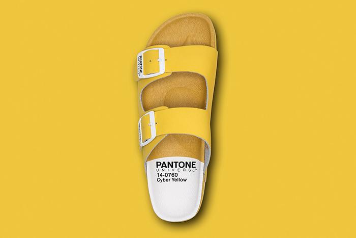 Pantone Universe sandal (2)