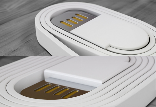 Spooly - World's First Magnetic Charging Cables (01)