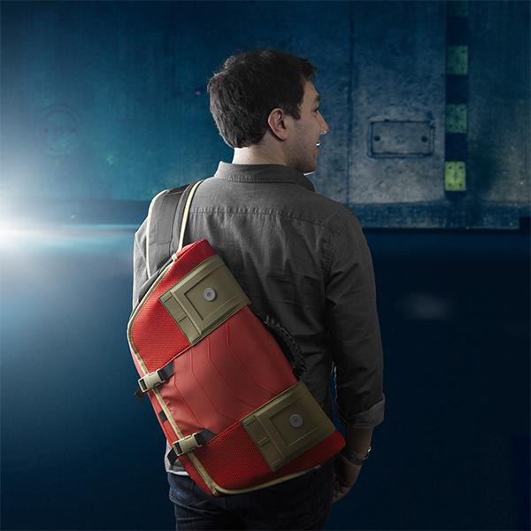 Stark Industries Messenger Backpack (3)