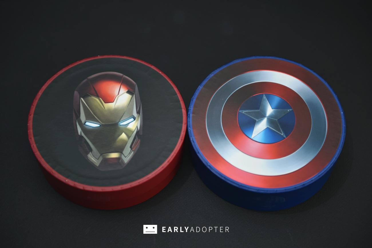 baskin robbins 31 marvel civil war earphones (2)