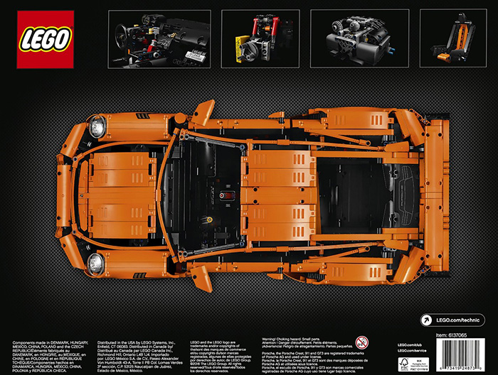 porsche 911 GT3 RS lego (2)