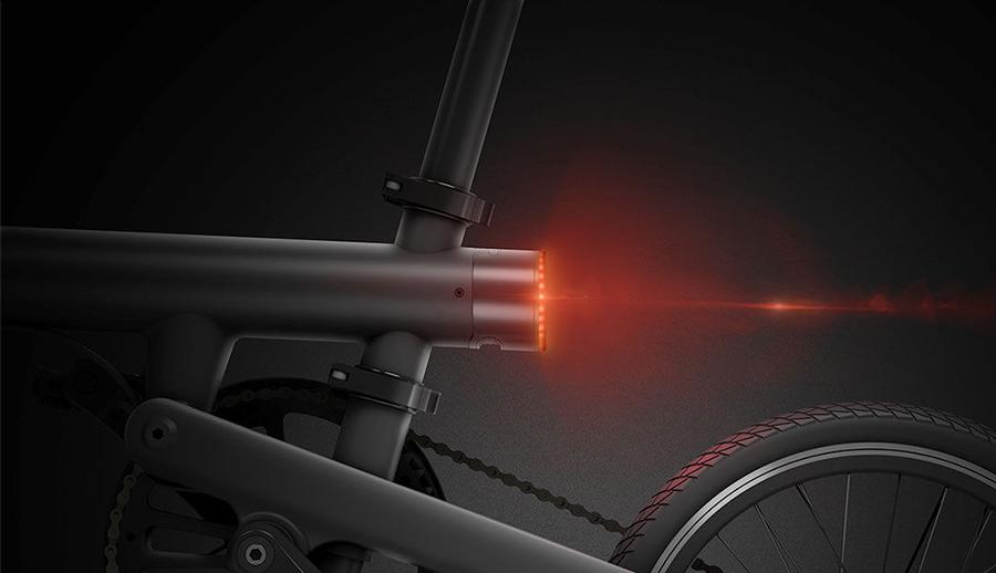 샤오미의 새로운 접이식 전기 자전거