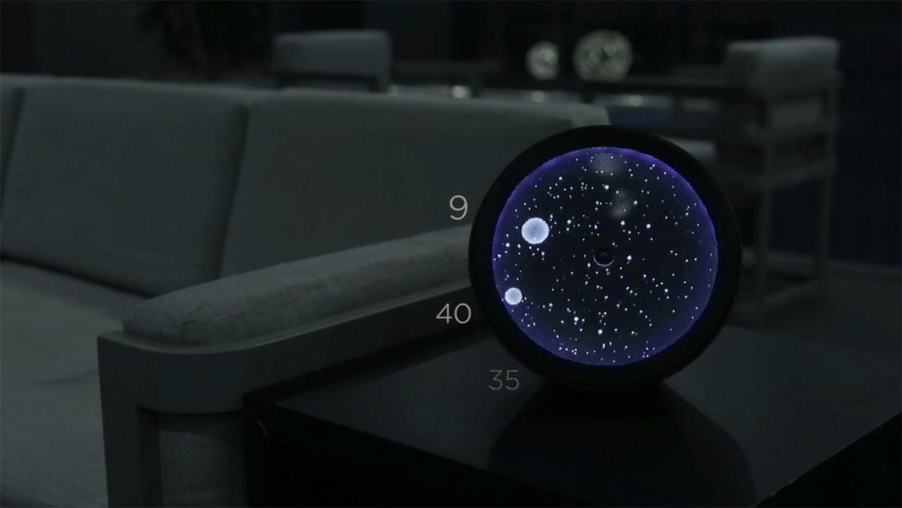 COSMOS - constellation clock speaker (1)