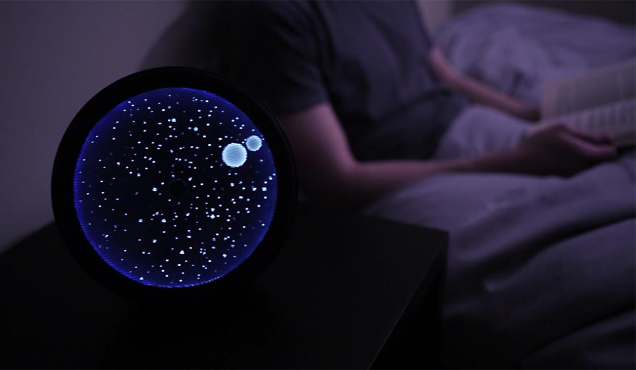 COSMOS - constellation clock speaker (3)