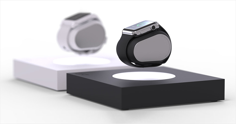 Anti Gravity Levitating Smartwatch Charger and Lamp - LIFT (1)