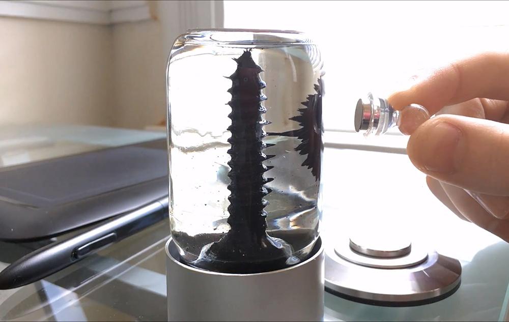 RIZE spinning ferrofluid sculpture (3)