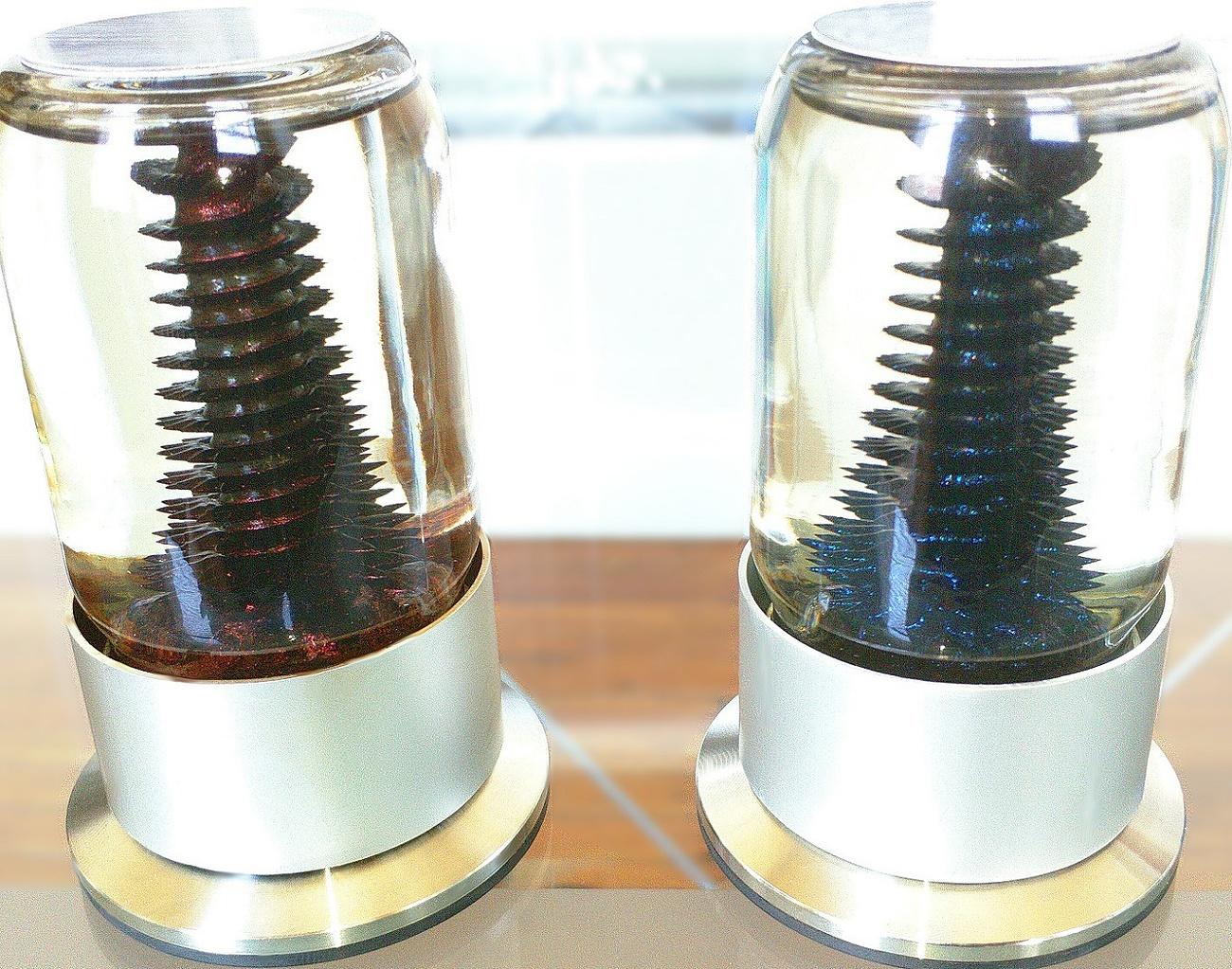 RIZE spinning ferrofluid sculpture (5)