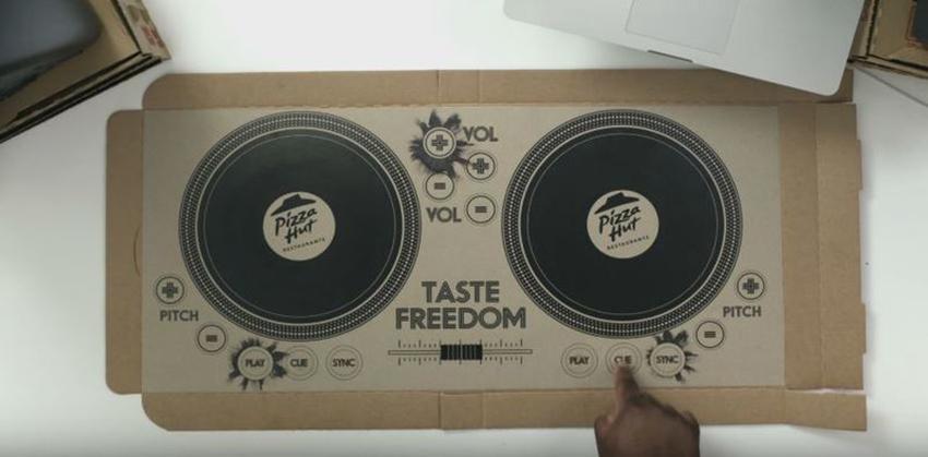 dj pizza box