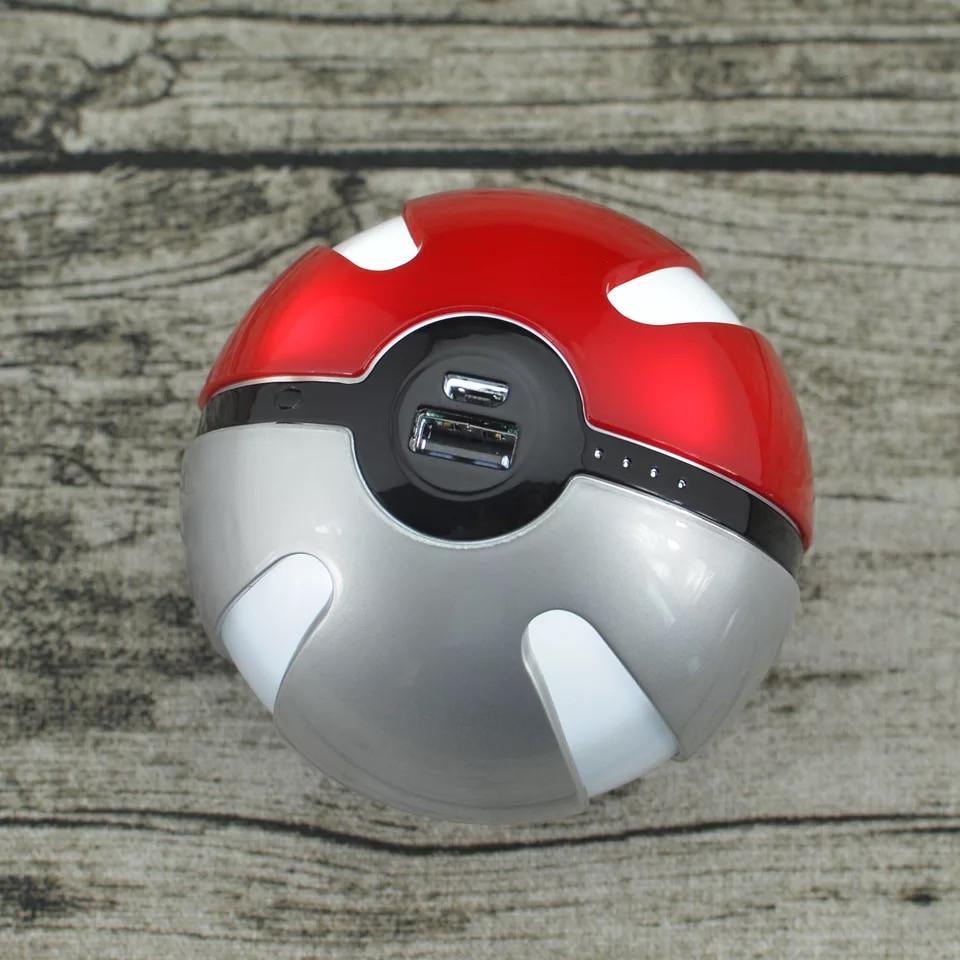 pokemon pokeball 10000 MAH LED POWER BANK battery (3)