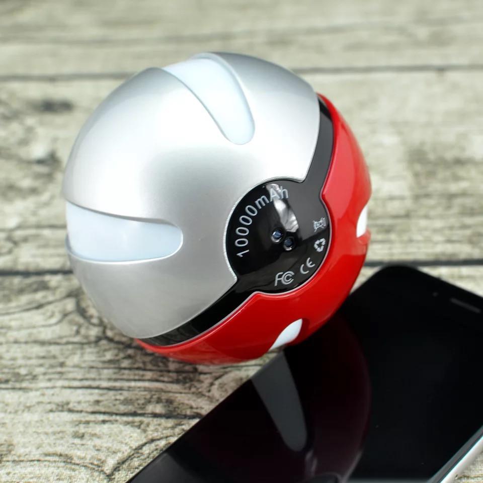 pokemon pokeball 10000 MAH LED POWER BANK battery (4)