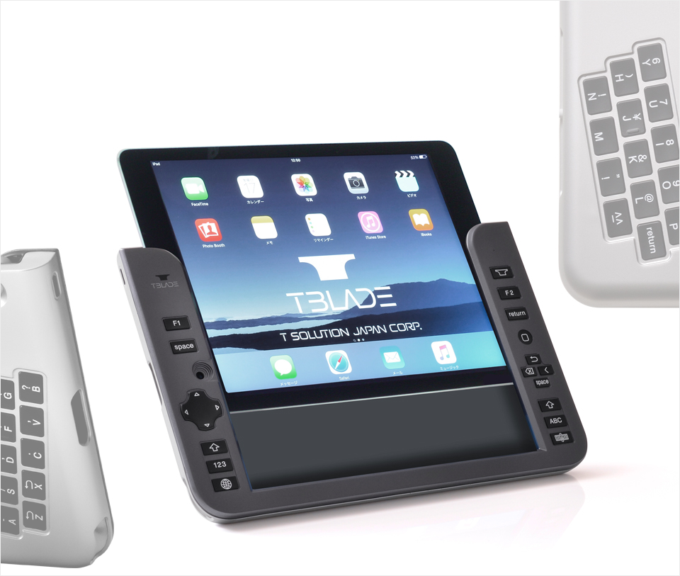 t-blade world's first back typing bluetooth keyboard for ipad (1)