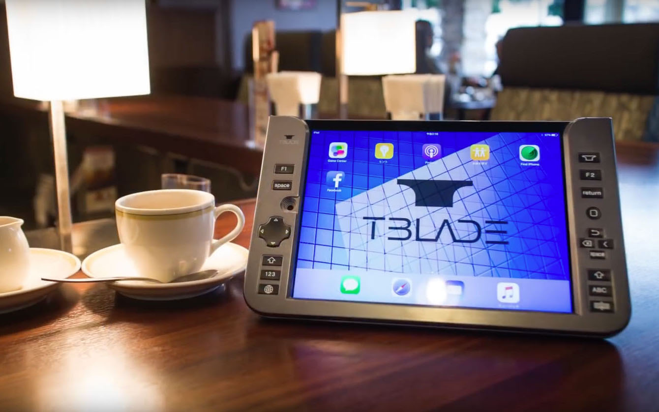 t-blade world's first back typing bluetooth keyboard for ipad (4)