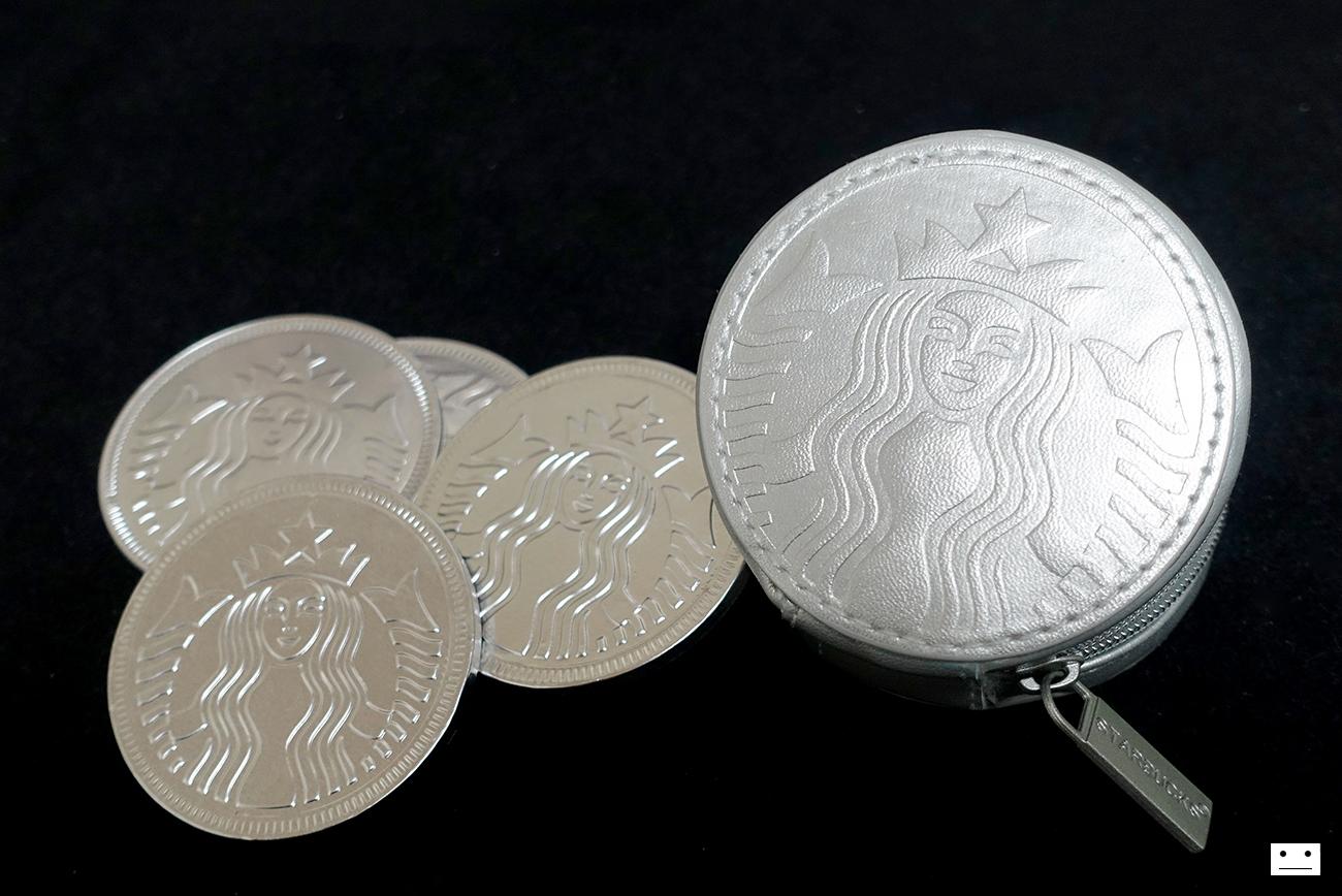 starbucks coin pouch