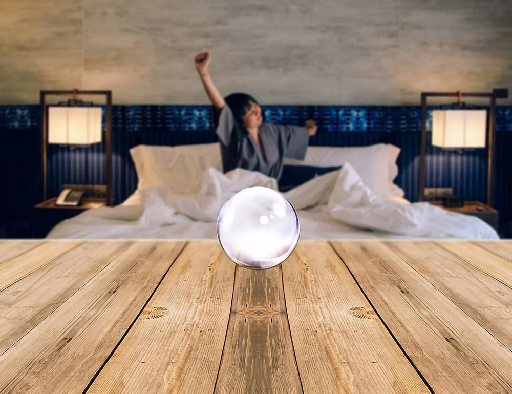 잠을 재워주는 유리 구슬