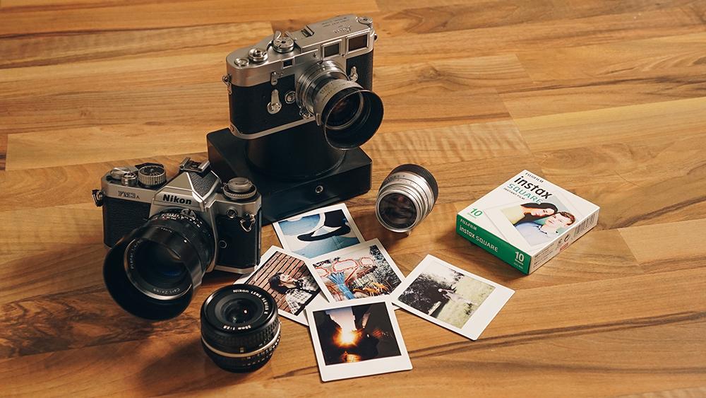 즉석 카메라로 변신한 필름 카메라